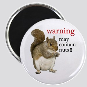 Warning Squirrel Magnets