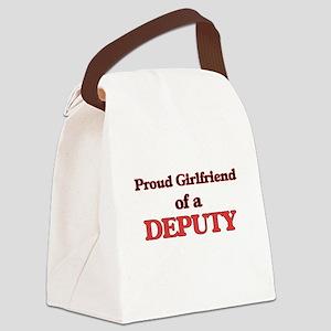 Proud Girlfriend of a Deputy Canvas Lunch Bag