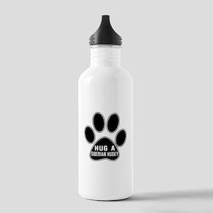 Hug A Siberian Husky D Stainless Water Bottle 1.0L