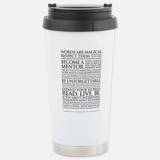 Large Voiceover Talent Manifesto Mugs