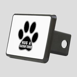 Hug A Sealyham Terrier Dog Rectangular Hitch Cover