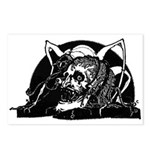 Poe Vignette 4 Postcards (Package of 8)