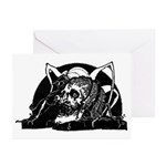 Poe Vignette 4 Greeting Cards (Pk of 10)