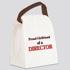 Proud Girlfriend of a Director Canvas Lunch Bag