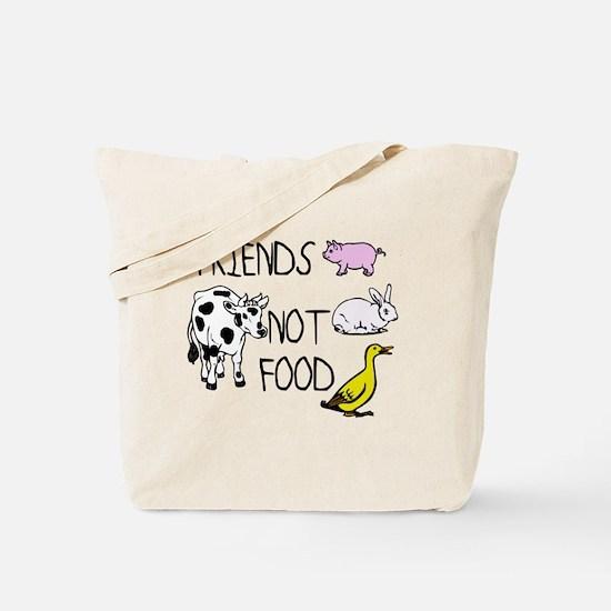 Unique Vegan compassion Tote Bag