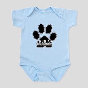 Hug A Polish Lowland Sheepdog Dog Infant Bodysuit