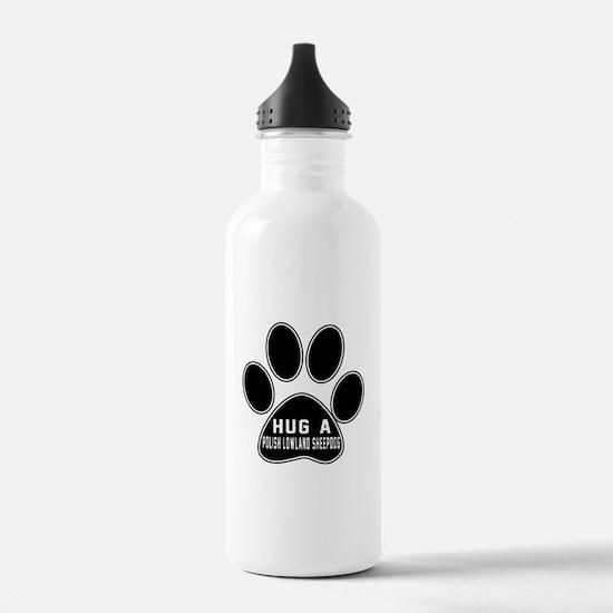 Hug A Polish Lowland S Water Bottle