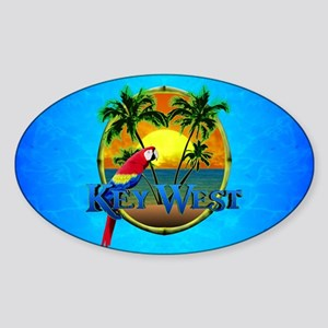 Key West Sunset Sticker