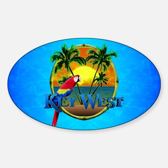 Key West Sunset Decal