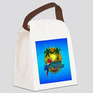 Key West Sunset Canvas Lunch Bag