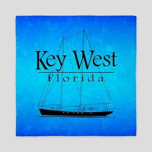Key West Sailing Queen Duvet