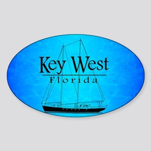 Key West Sailing Sticker