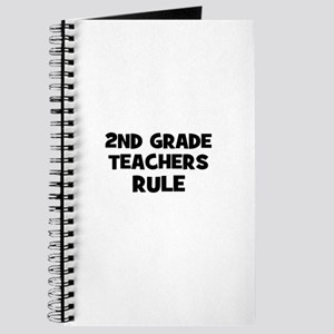 2nd Grade Teachers Rule Journal