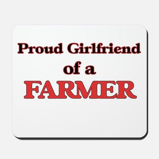 Proud Girlfriend of a Farmer Mousepad