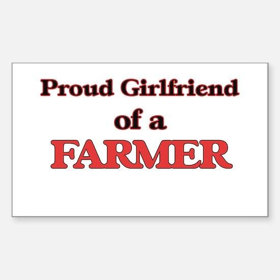 Proud Girlfriend of a Farmer Decal