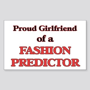 Proud Girlfriend of a Fashion Predictor Sticker