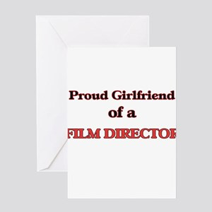 Proud Girlfriend of a Film Director Greeting Cards
