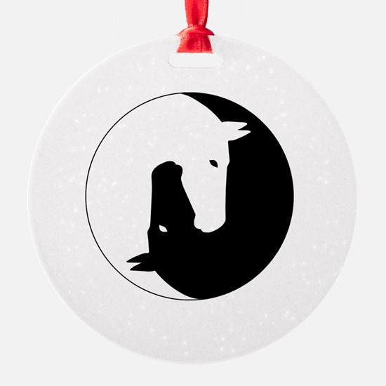 Cool Yin yang Ornament