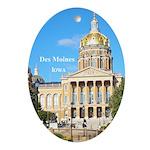 Des Moines Oval Ornament
