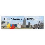Des Moines Sticker (Bumper 10 pk)