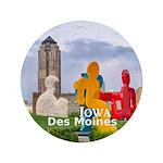 """Des Moines 3.5"""" Button (100 pack)"""