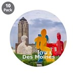 """Des Moines 3.5"""" Button (10 pack)"""