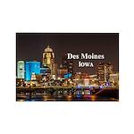 Des Moines Rectangle Magnet (10 pack)