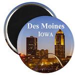 """Des Moines 2.25"""" Magnet (100 pack)"""