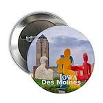 """Des Moines 2.25"""" Button (100 pack)"""