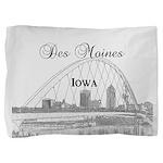 Des Moines Pillow Sham