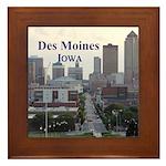 Des Moines Framed Tile