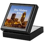 Des Moines Keepsake Box