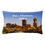 Des Moines Pillow Case