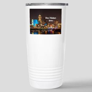 Des Moines Stainless Steel Travel Mug