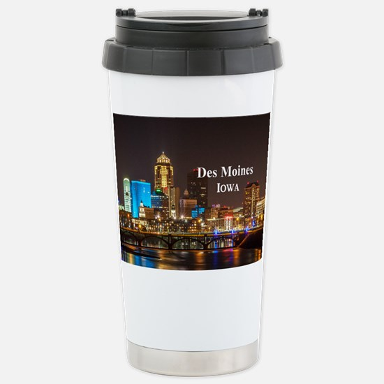 Des Moines Stainless Steel Travel Mug