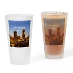 Des Moines Drinking Glass