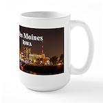 Des Moines Large Mug