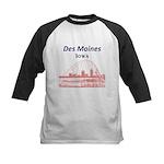 Des Moines Kids Baseball Jersey