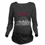 Des Moines Long Sleeve Maternity T-Shirt