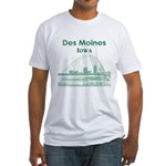 Des Moines Fitted T-Shirt