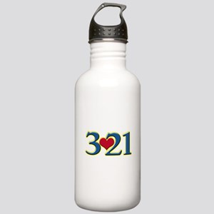 321 Down Syndrome Awar Stainless Water Bottle 1.0L