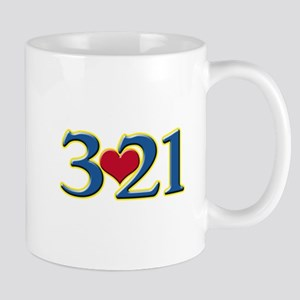 321 Down Syndrome Awareness Day Mugs