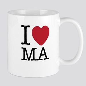 I Love MA Massachusetts Mug