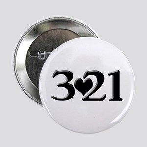 """321 Down Syndrome Awareness Day 2.25"""" Button"""