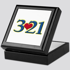 321 Down Syndrome Awareness Day Keepsake Box