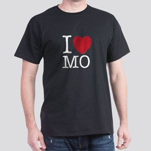 I Love MO Missouri Dark T-Shirt