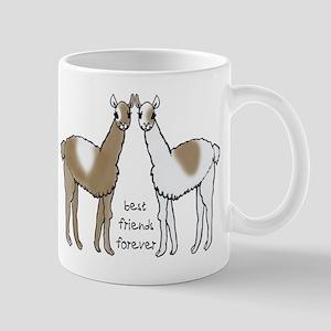 Cute Llamas Bff Lefty Mugs