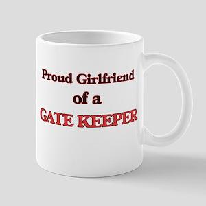 Proud Girlfriend of a Gate Keeper Mugs