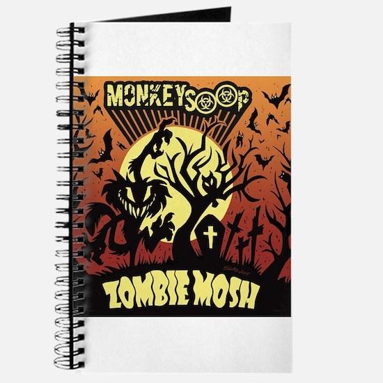 Monkeysoop Zombie Mosh artwork Journal