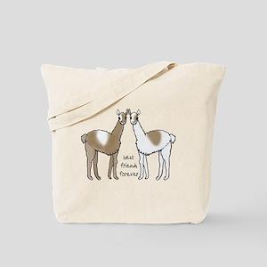 cute llamas bff Tote Bag